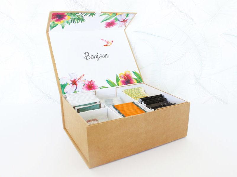 box boite à thé