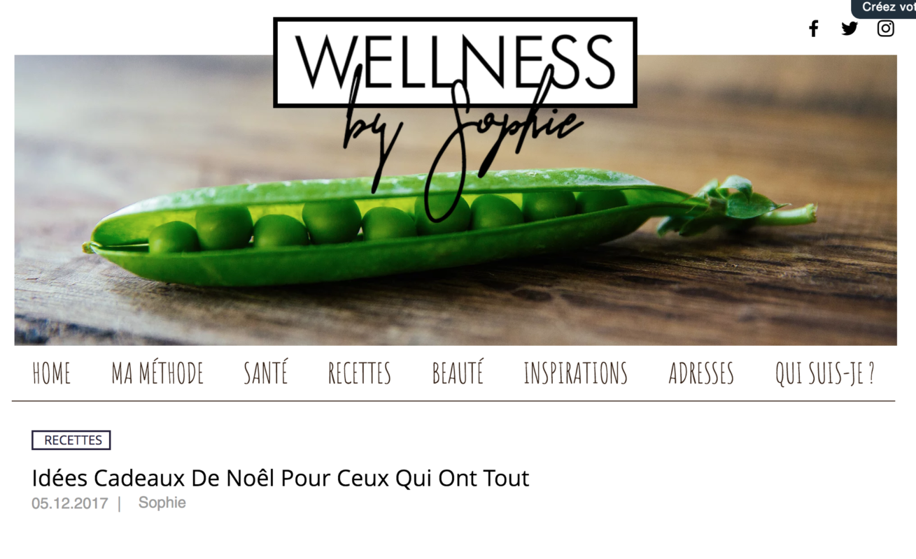 article curcumabox wellness by Sophie